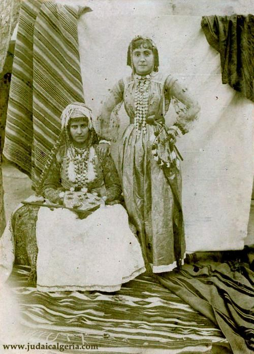 Jeunes femmes juives de Laghouat   Algeria