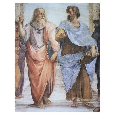 School of Athens (detail - Pl Poster