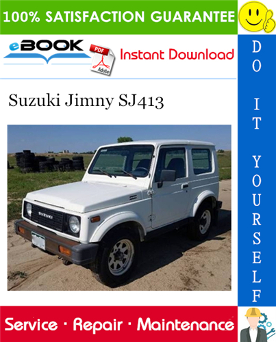 Suzuki Jimny Sj413 Service Repair Manual Suzuki Jimny Repair Manuals Suzuki