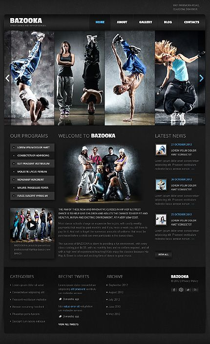 11 best images about Education Related Joomla on Pinterest | Dance ...