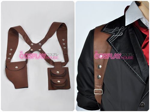 Bioshock Infinite -- Booker DeWitt Cosplay Costume - Vest