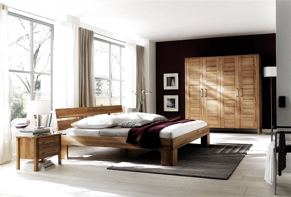 Schlafzimmer Komplett Modern Massiv