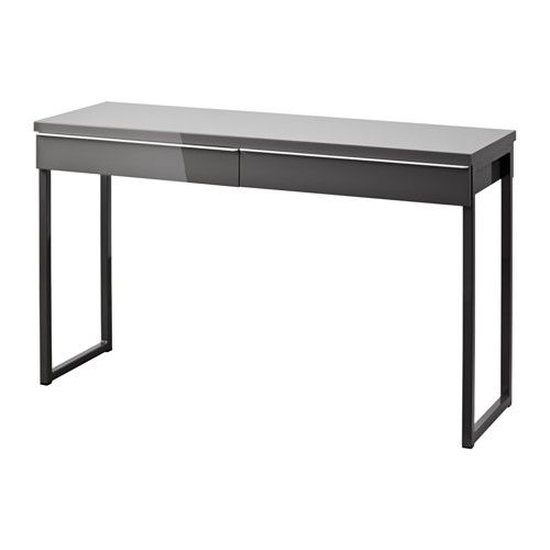 best burs bureau brillant blanc bureau ikea et gris. Black Bedroom Furniture Sets. Home Design Ideas