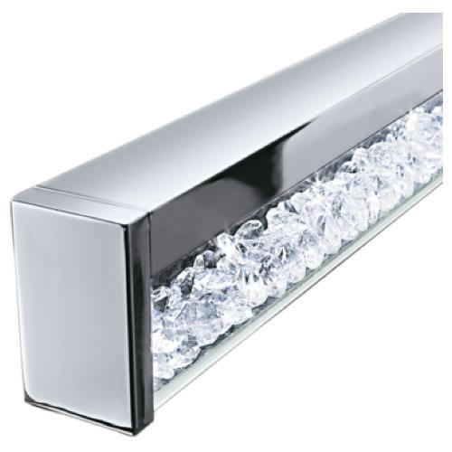 Led pendelleuchte dimmbar h henverstellbar 700mm lampen mit kristallen lampen - Stehlampe mit kristallen ...