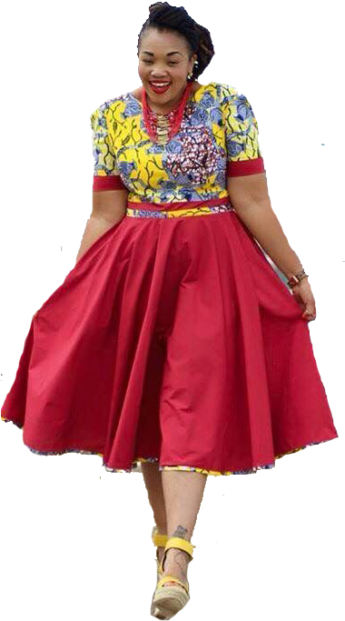 Women African Fashion Dress African Traditional Attire Dresses 480x720 Png Download African Fashion Dresses Shweshwe Dresses Sotho Traditional Dresses