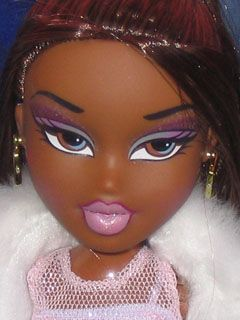 Bratz 2003 Sasha Funk N Glow 2 Bratz Doll Makeup Doll Halloween Costume Bratz Doll