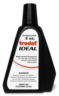 Graphic Of Trodat 2oz Ink Refill Bottle Stamp Pad Self