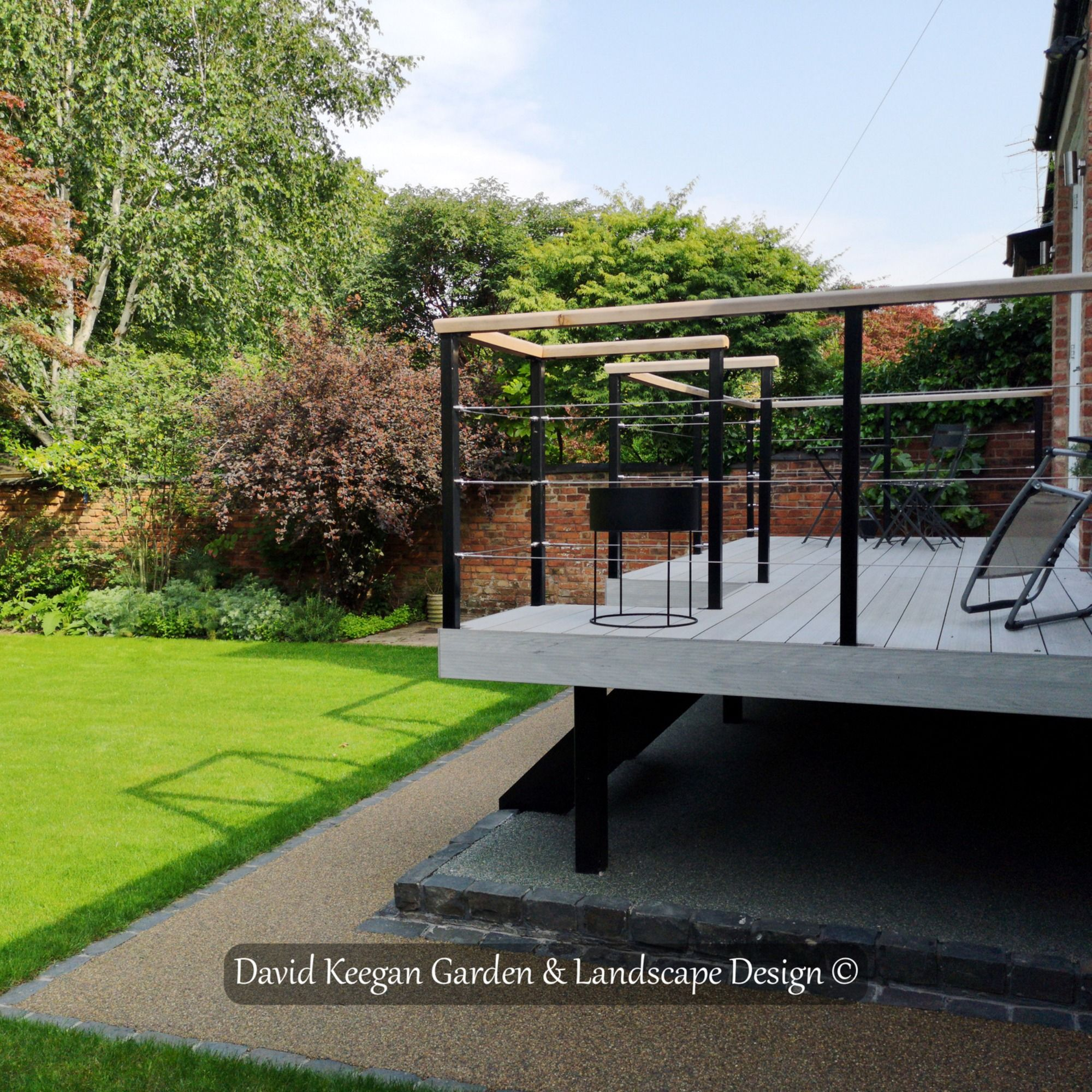 From One Of My Garden Design Projects Didsbury In Manchester Family Garden Swipe For Before Picture Award Winni Garden Design Landscape Design Family Garden