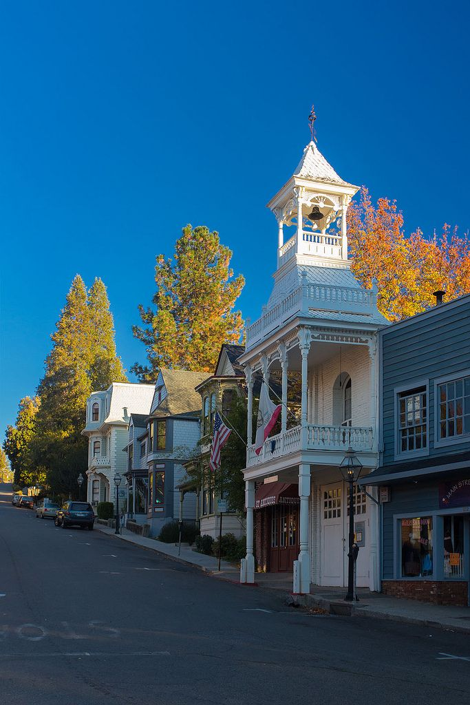 Shops On Commercial St Nevada City Ca Nevada City Nevada City California Hotel California