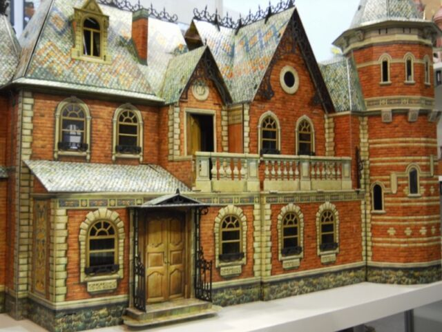 Victorian DOLL HOUSE #1, #2, #3 Full Set DIY Dollhouse Miniature Scale 1:12 Kit