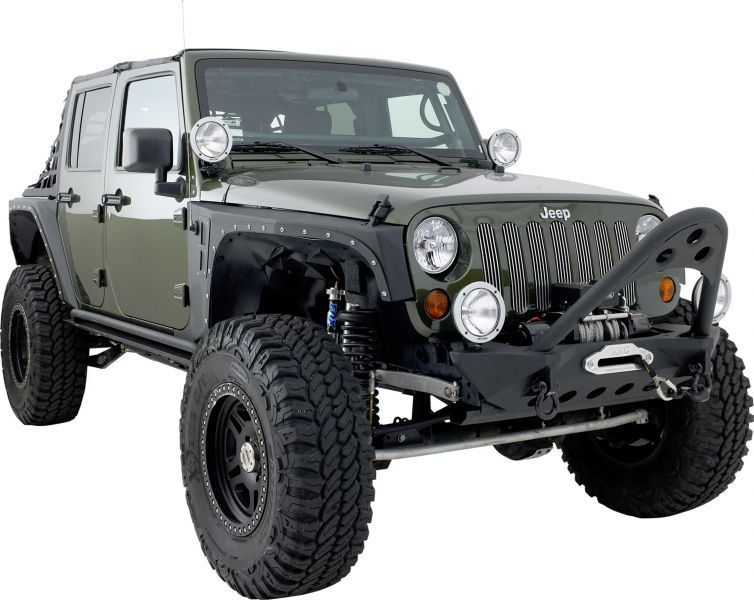 Smittybilt Front Src Stinger Bumper In Textured Black Jeep Parts