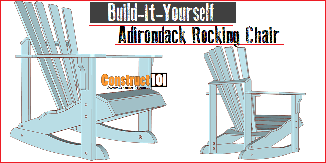 adirondack rocking chair plans pinterest rocking chair plans
