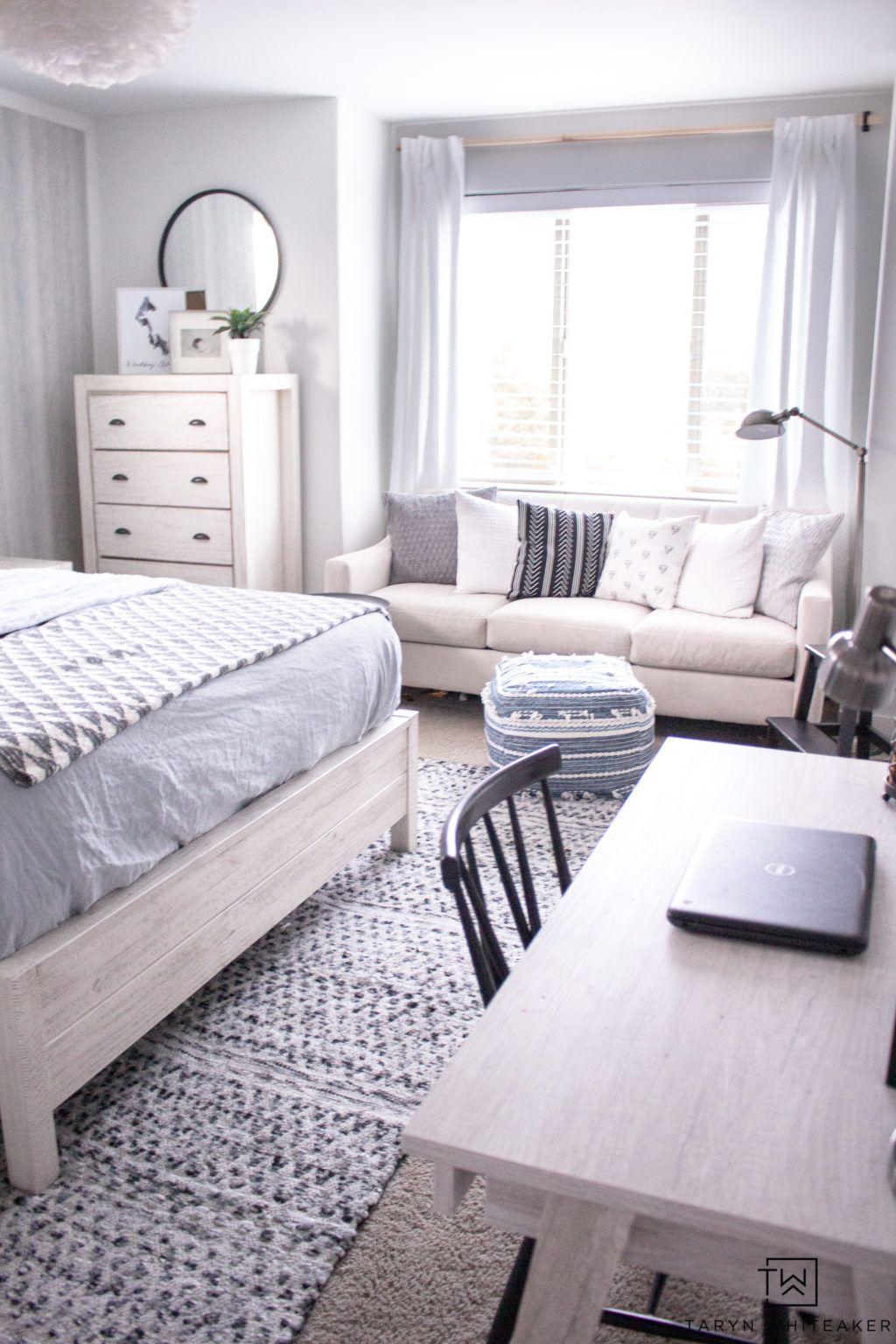 Modern Blue Girls Room