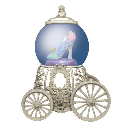 Cinderella Filme Glass Slipper transporte de água Globo