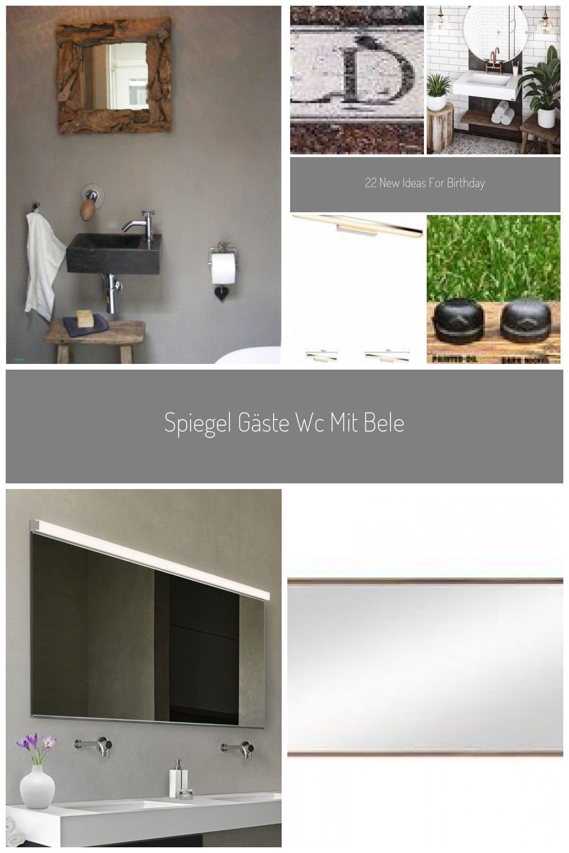 Spiegel Gste Wc Mit Beleuchtung Luxus Elegant Gste Wc Spiegel Mit Beleuchtung Badezimmer Spiegelgste In 2020 Wc Spiegel Spiegel Gaste Wc Badezimmer