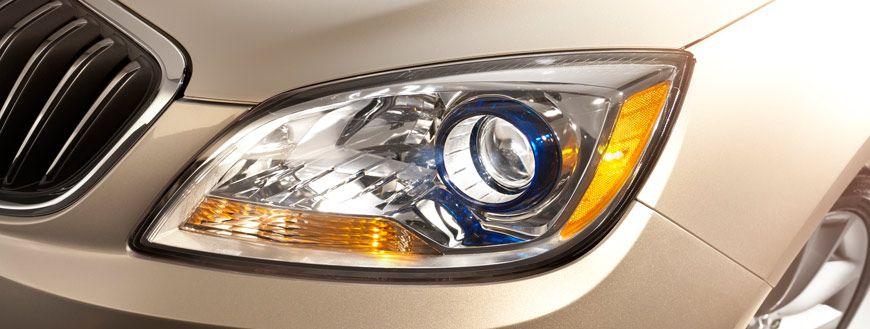 Jewel Like Blue Translucent Headlamps Make A Statement Of Sophistication Buick Verano Luxury Sedan Buick