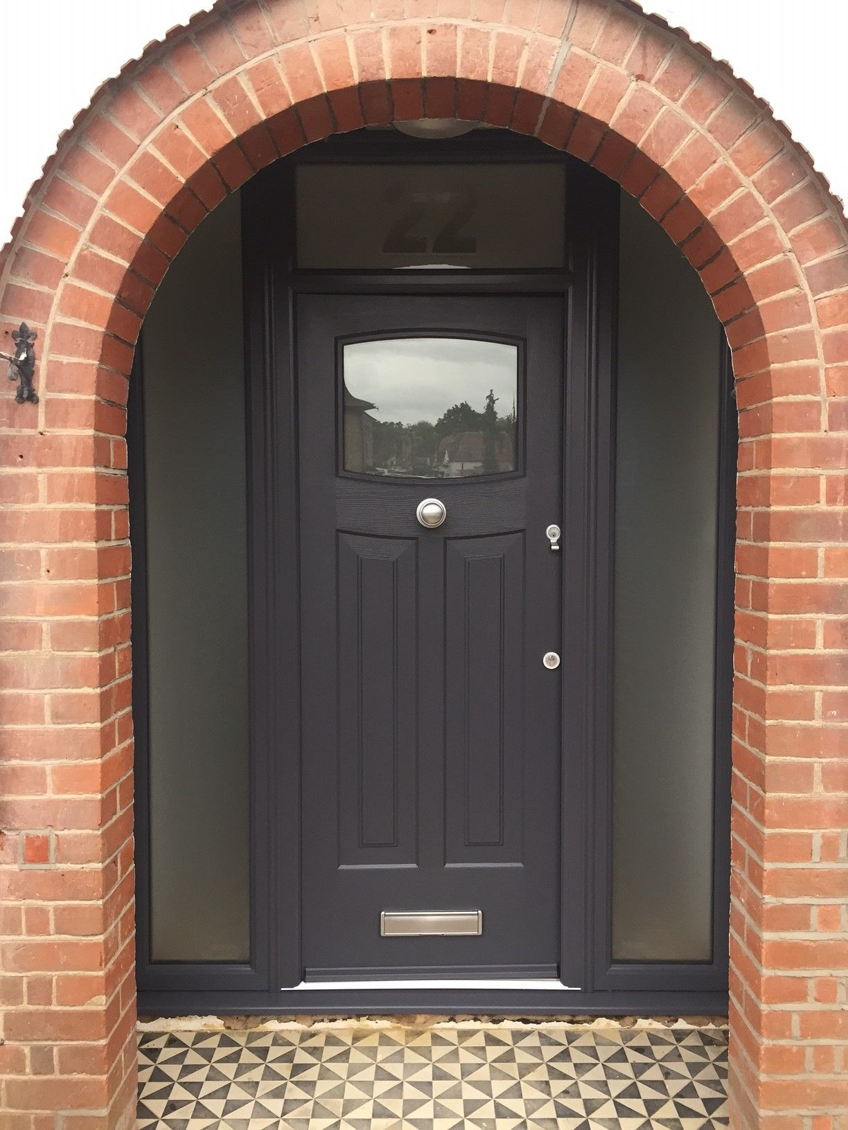 A Beautiful Anthracite Grey Newark Rockdoor Manufacture The Most