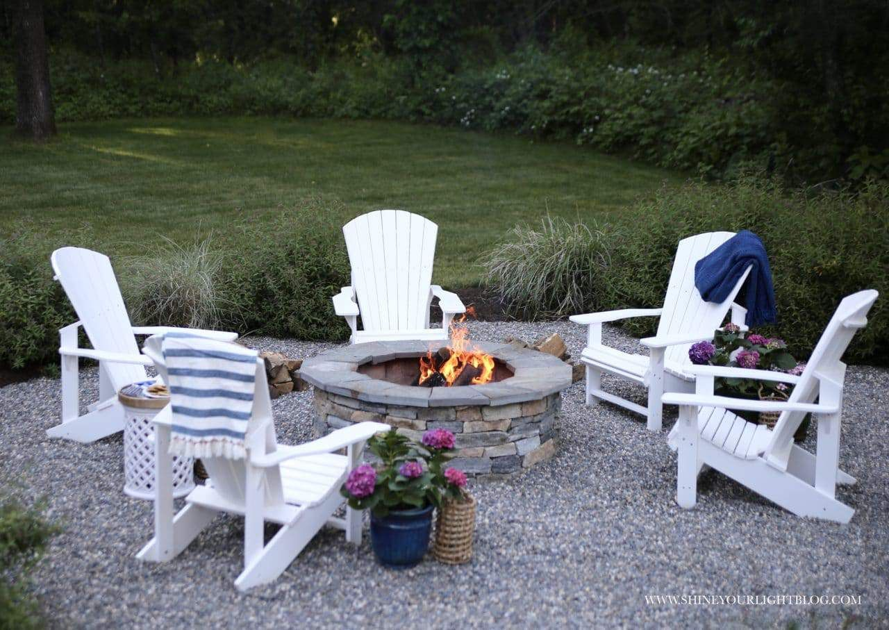 Photo of How We Made Our Outdoor Living Spaces Low Maintenance- The Patio & Deck Makeover – Shine Your Light