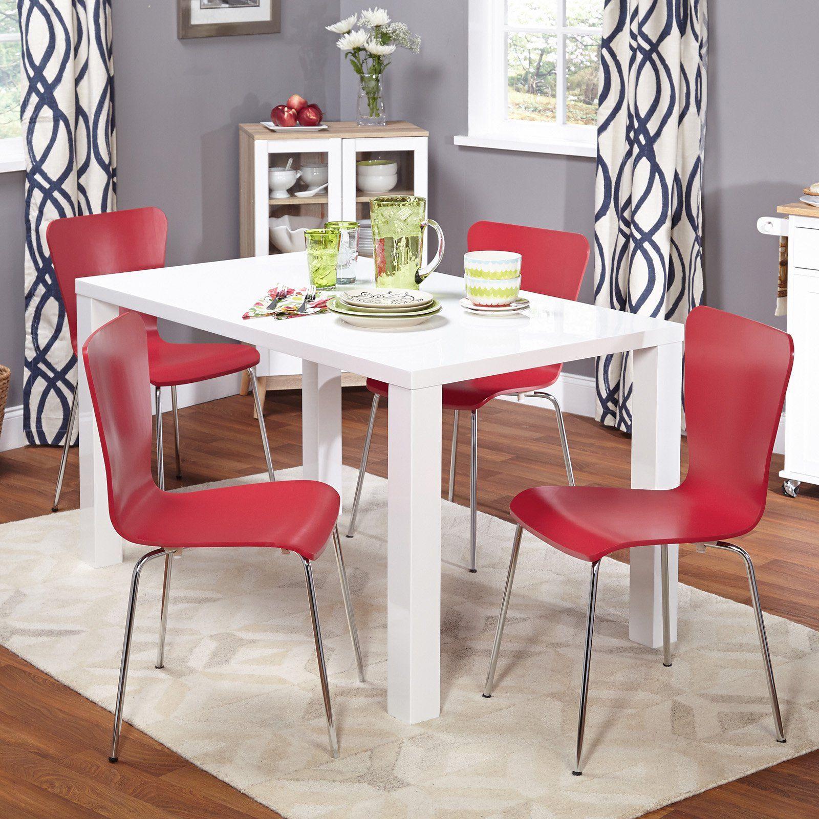 Target Marketing Systems Felix 5 Piece Dining Table Set Small