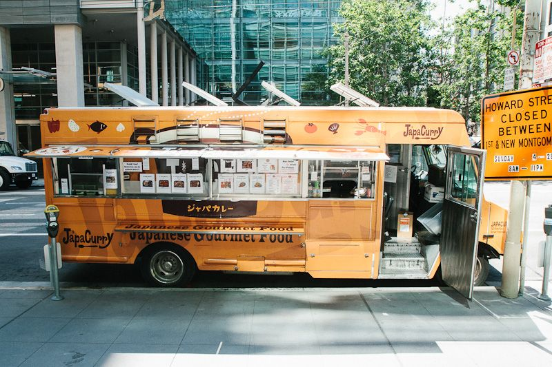 Japacurry san francisco food truck http