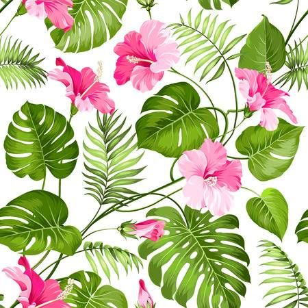Stock Vector #tropicalpattern