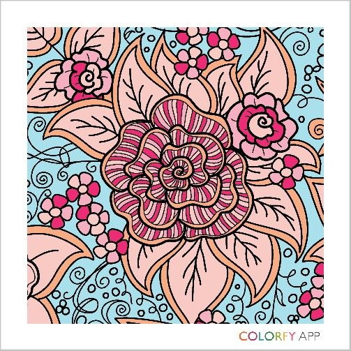 Suave Coloring By Cheesecokecola Relax And Color Colorfy