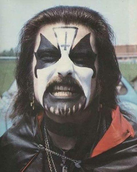 King Diamond The Old Makeup King Diamond Mercyful Fate Heavy Metal