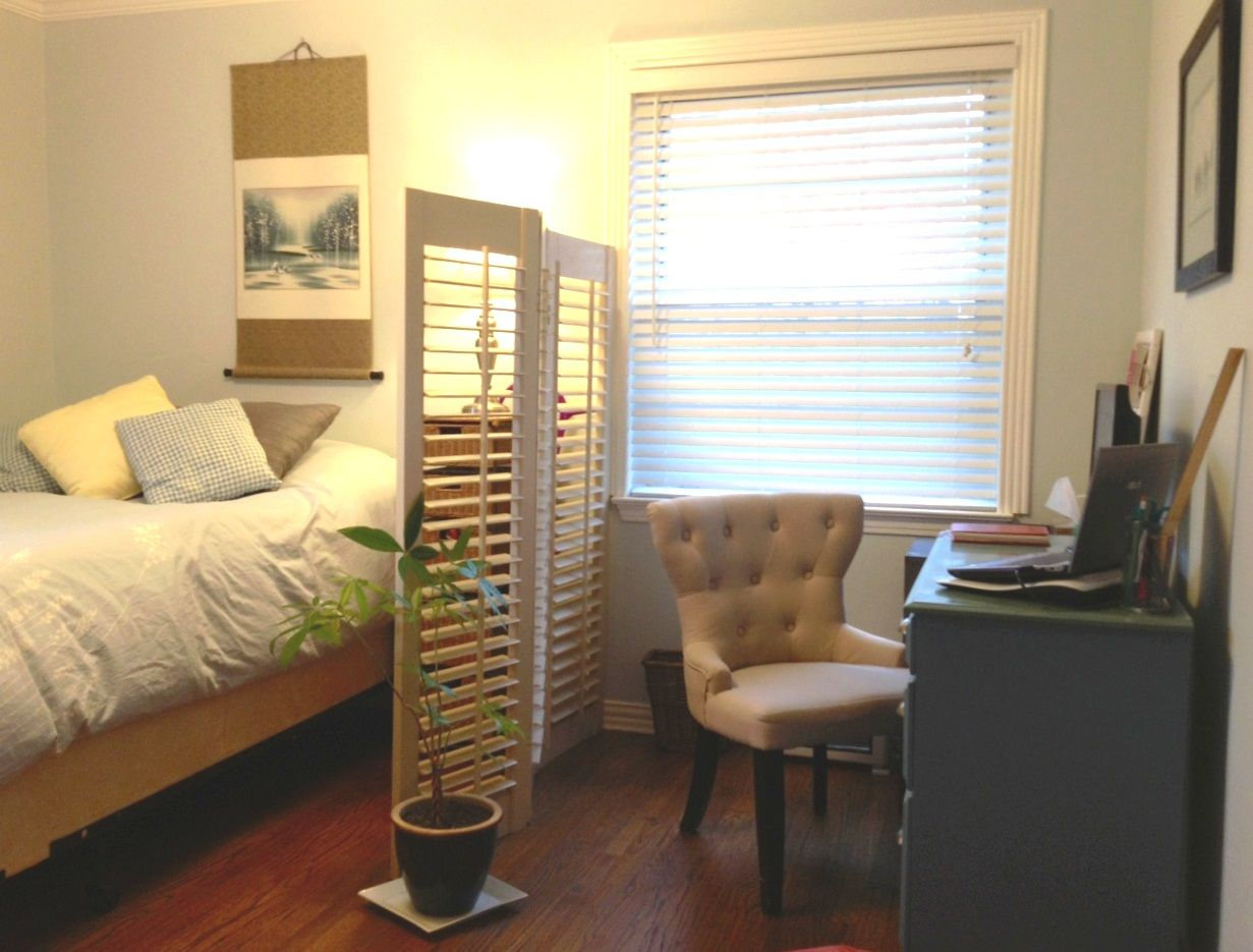 Turn your guest room into a home office, with space for ...