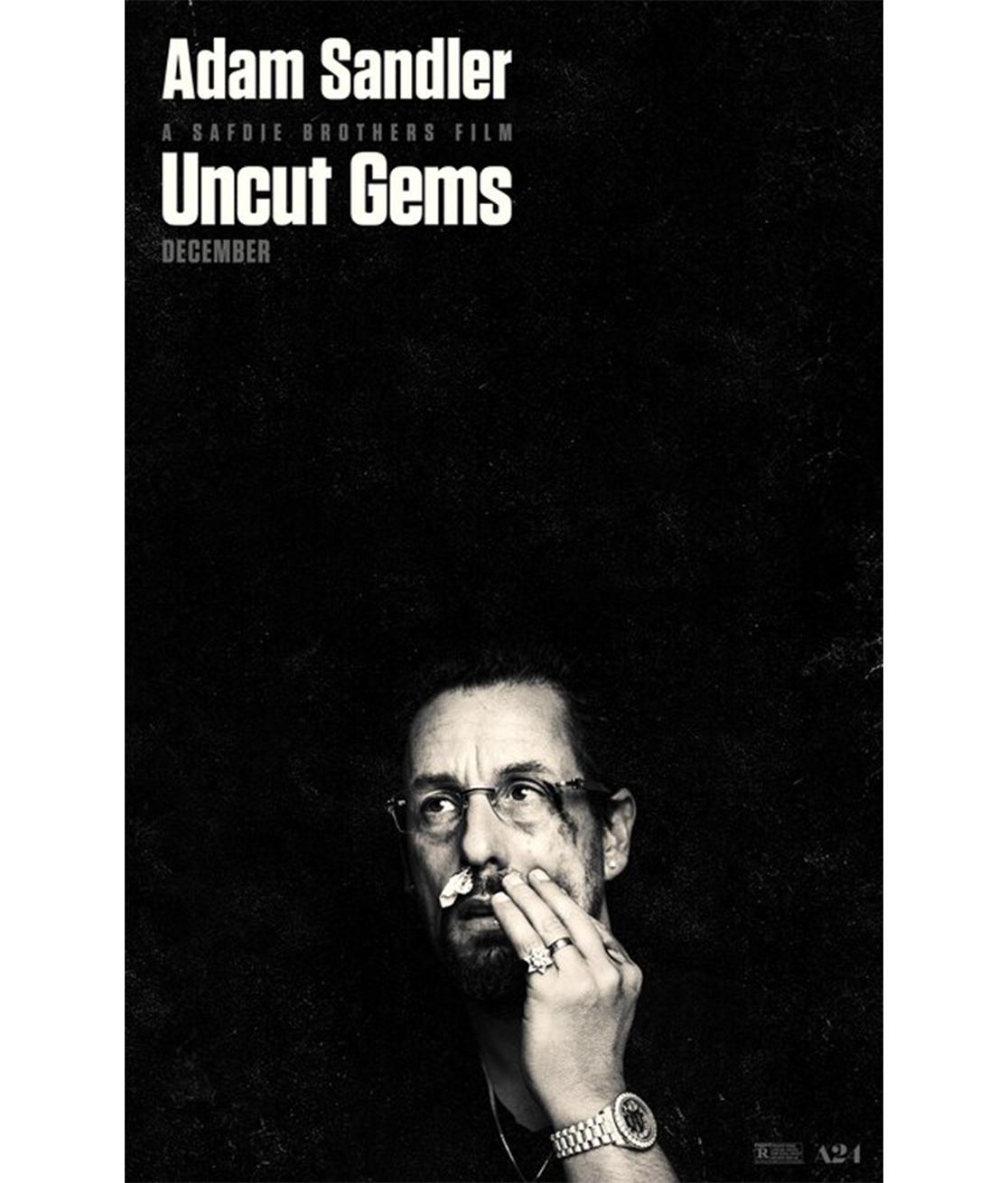 Movie Poster For Adam Sandlers Uncut Gems Adam sandler