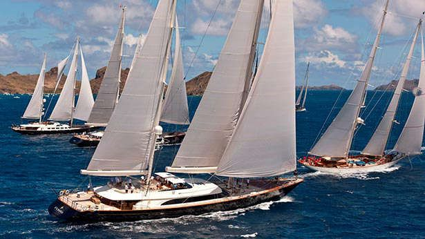 The St Barths Bucket kicks off this week on the Caribbean island, with 36 sailing superyachts competing in pursuit-style racing with three races scheduled from 20-22 March