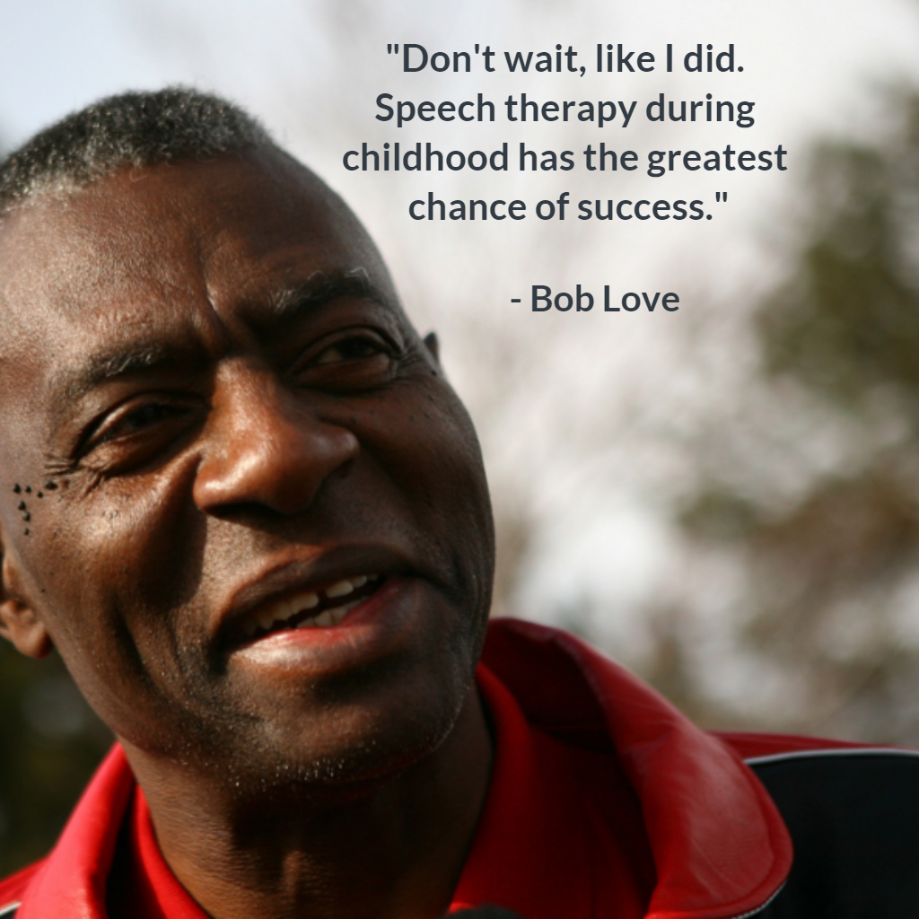 Bob Love on stuttering NBA Basketball BobLove