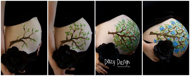 Growing belly! Daizy Design Face Painting - Daizy Design
