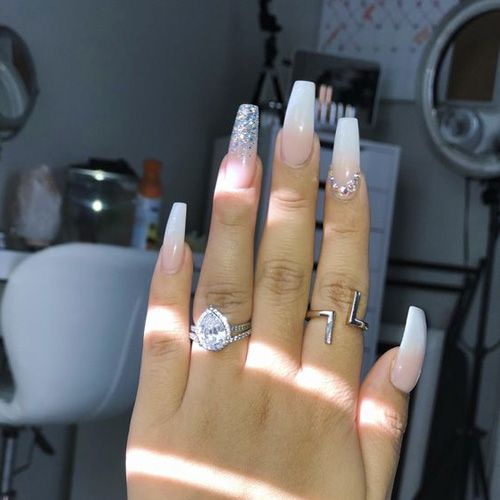 34 Smart Nail Art Designs That Are Off The Chart – HashtagNailArt.com – Coffin nails designs