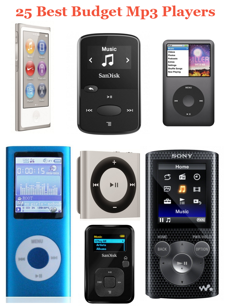 Finding the best Mp3 player for listening music while ...