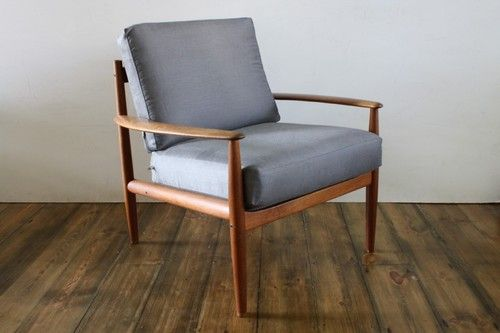 Grete Jalk 1960s Teak Lounge Chair Made By France Son Furniture