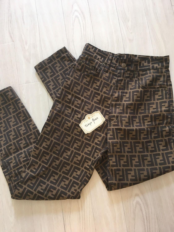 1e7cd63d19aab5 Home | Tokyo Roses Vintage Fendi Clothing, Printed Trousers, Monogram Logo,  Long Pants