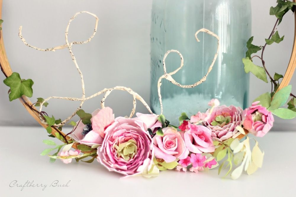 Watercolor paper flower diy wreath flower diy wreaths and flower dress up your bridal shower or wedding with the gorgeous watercolor paper flower diy wreath this beautiful wreath made with paper flowers is delicate and mightylinksfo