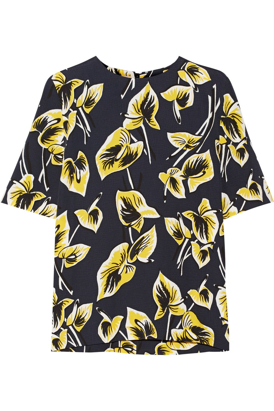 Shop on-sale MARNI Floral-print matelassé top. Browse other discount  designer Sleeveless & more on The Most Fashionable Fashion Outlet, THE  OUTNET.