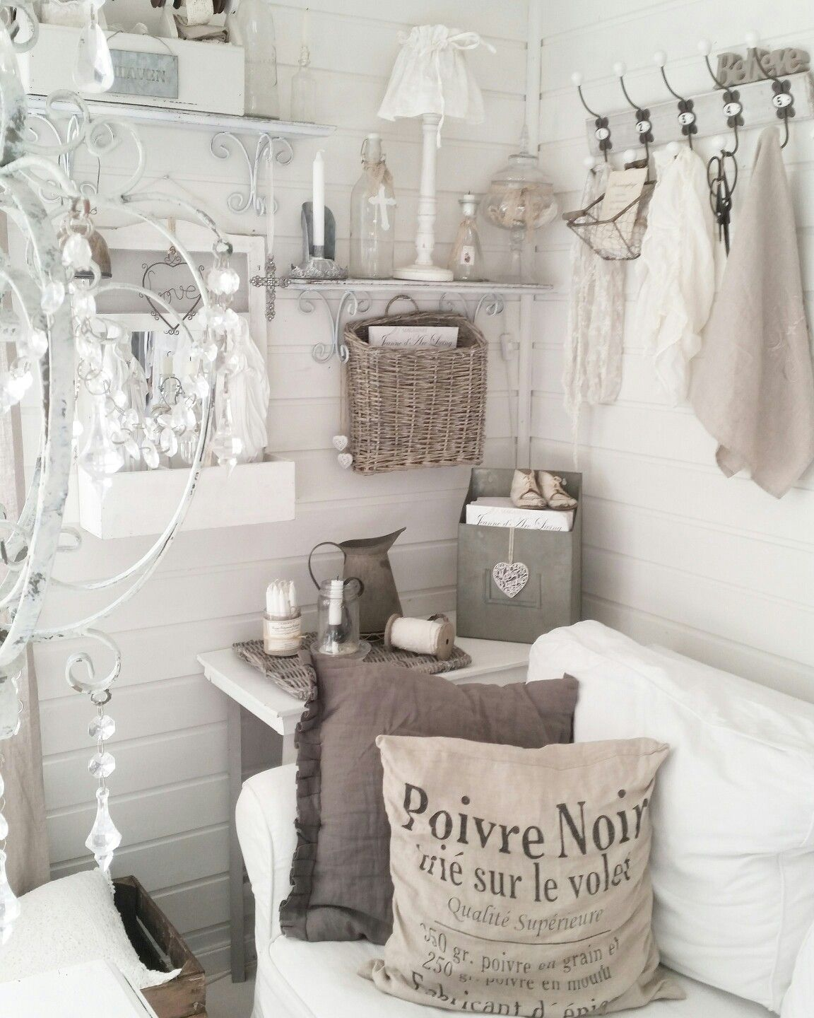 Chambre Style Shabby Chic details in my livingroom instagram: lolvind | maison | deco