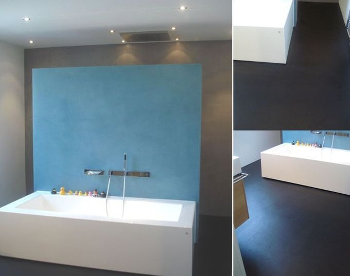 Malerische_Wohnideen - fugenlose Bäder Darmstadt 01c For the - badezimmer ohne fliesen