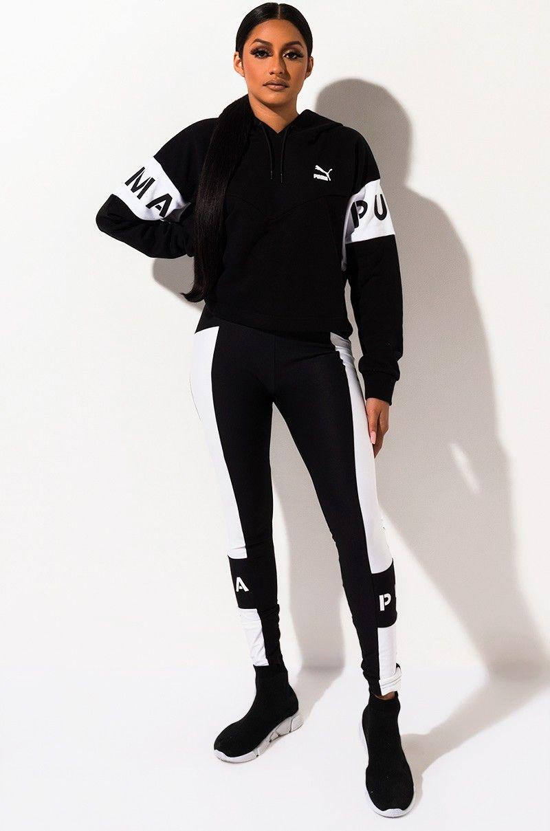 PUMA WOMENS XTG LEGGING | Puma outfit