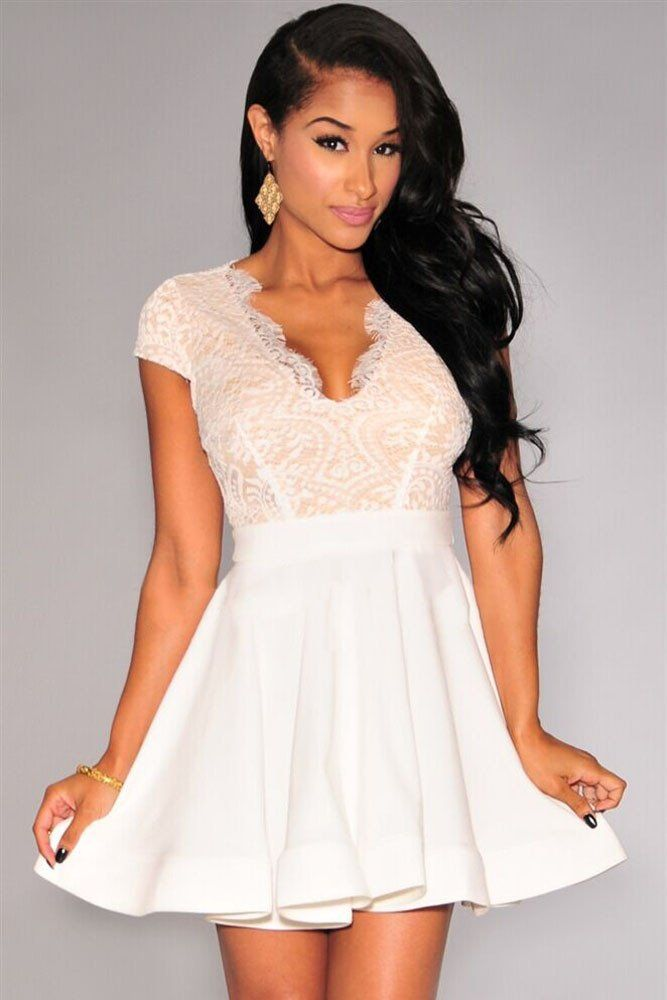 Pearl Bustier Chiffon Dress - Te Amo - Nude/Pink - Party Dresses - Clothing - Women - Nelly.com Uk