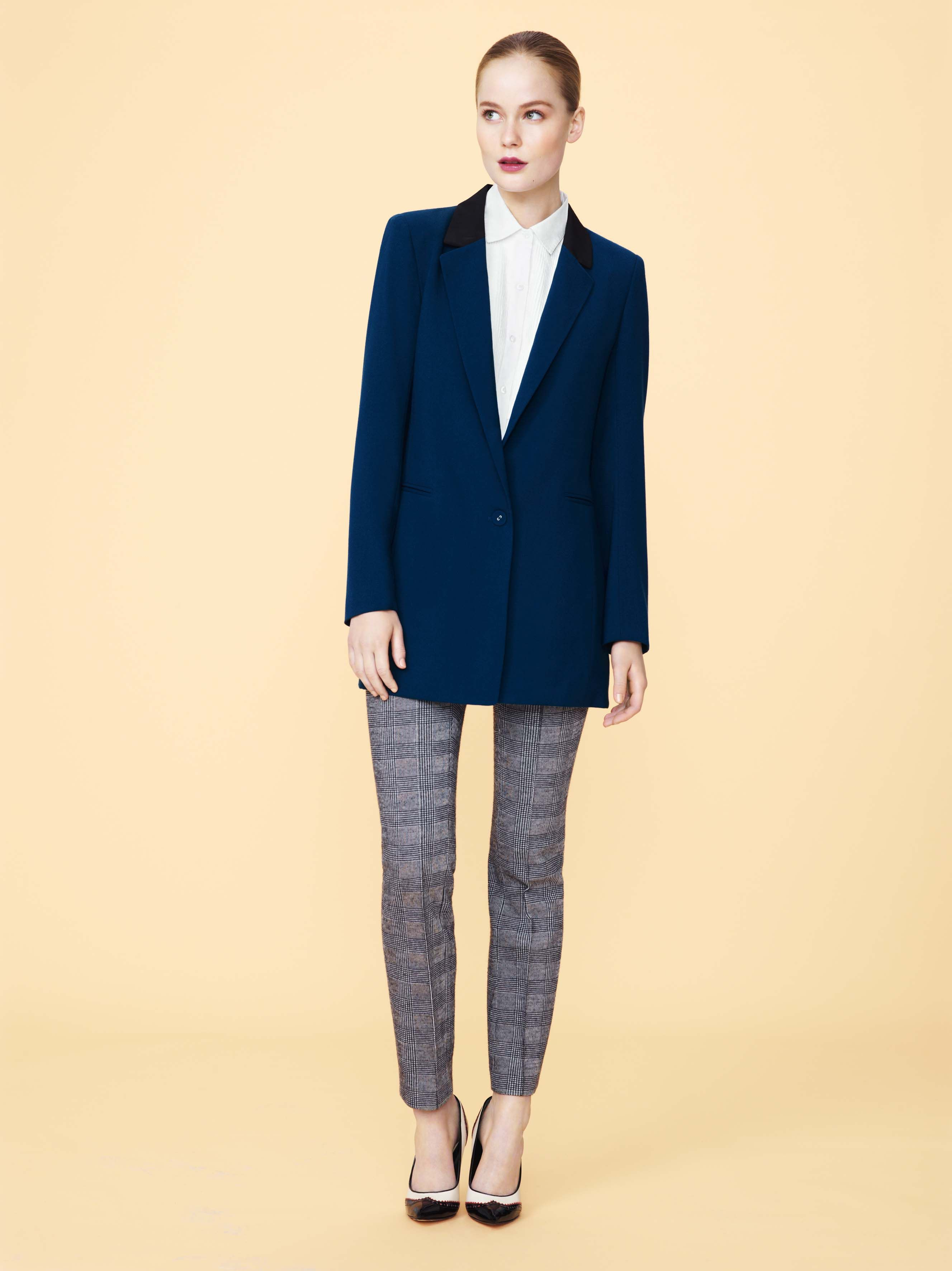 90b612916b Man up with an oversized blazer, patterned trousers and a buttoned ...