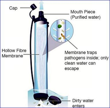 All Elements In The Lifestraw Filter Water Filters And
