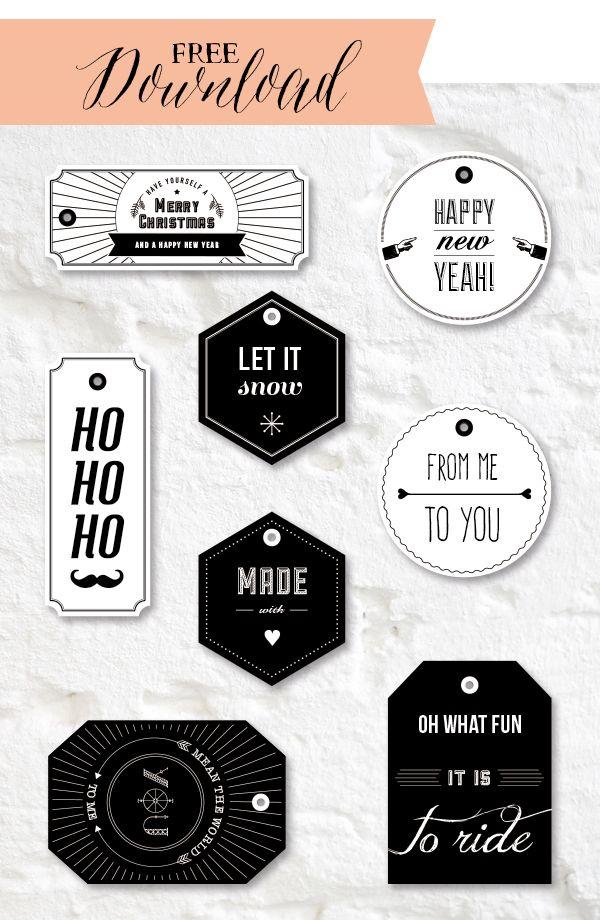 Weihnachtliches Download | Geschenke | Pinterest | Geschenkanhänger ...