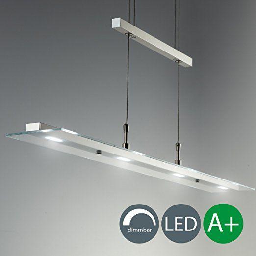 LED Pendelleuchte Dimmbar Stufenlos Höhenverstellbar Leuchte Inkl. LED Platine  230V IP20 Hängelampe Deckenleuchte LED