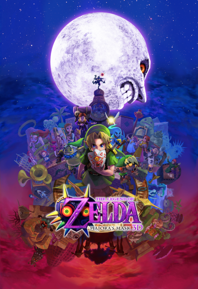 This Majora's Mask 3D poster is as stunning as it is enormous   Polygon