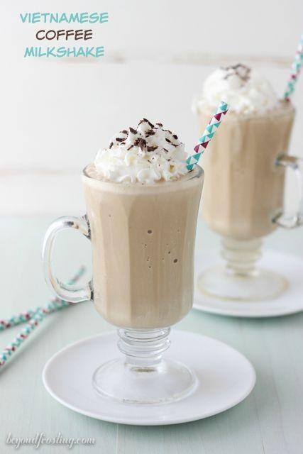 Vietnamese Coffee Milkshake Recipe Coffee Milkshake Coffee Milkshake Recipe Vietnamese Coffee