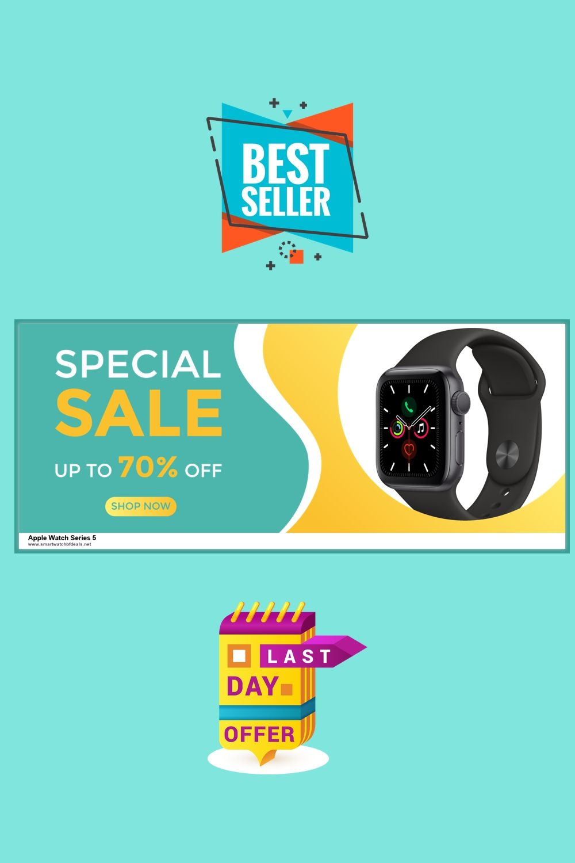 5 Best Apple Watch Series 5 Black Friday Deals Up To 30 Discount 2020 In 2020 Best Apple Watch Apple Watch Series Apple Watch