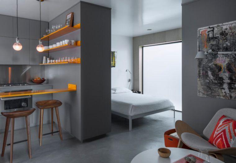 Façons d\'aménager studio : 58 idées intéressantes   Design Intérieur ...